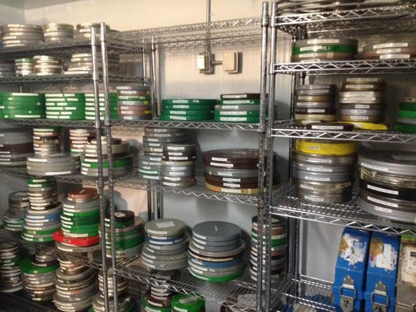 The Film Vault of the Winnipeg Film Group