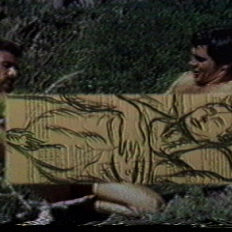 Film Still - Survival of the Delirious, 1988, 15:00, by Michael Balser and Andy Fabo