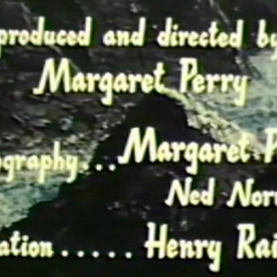 Credit title card. Glooscap Country. Directed by Margaret Perry, 1961. Nova Scotia Information Services Nova Scotia Archives film no. Fc 48