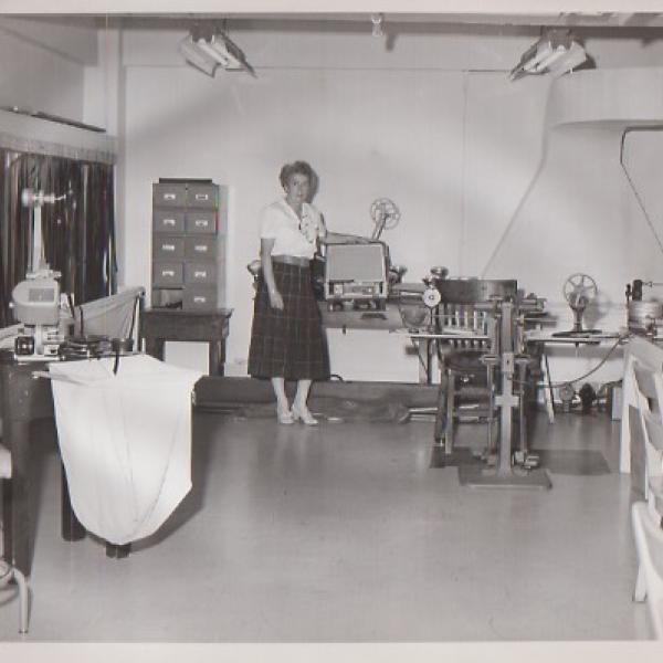 Margaret Perry at the Film Bureau